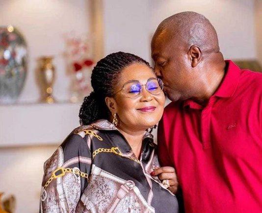 Lordina and John Mahama