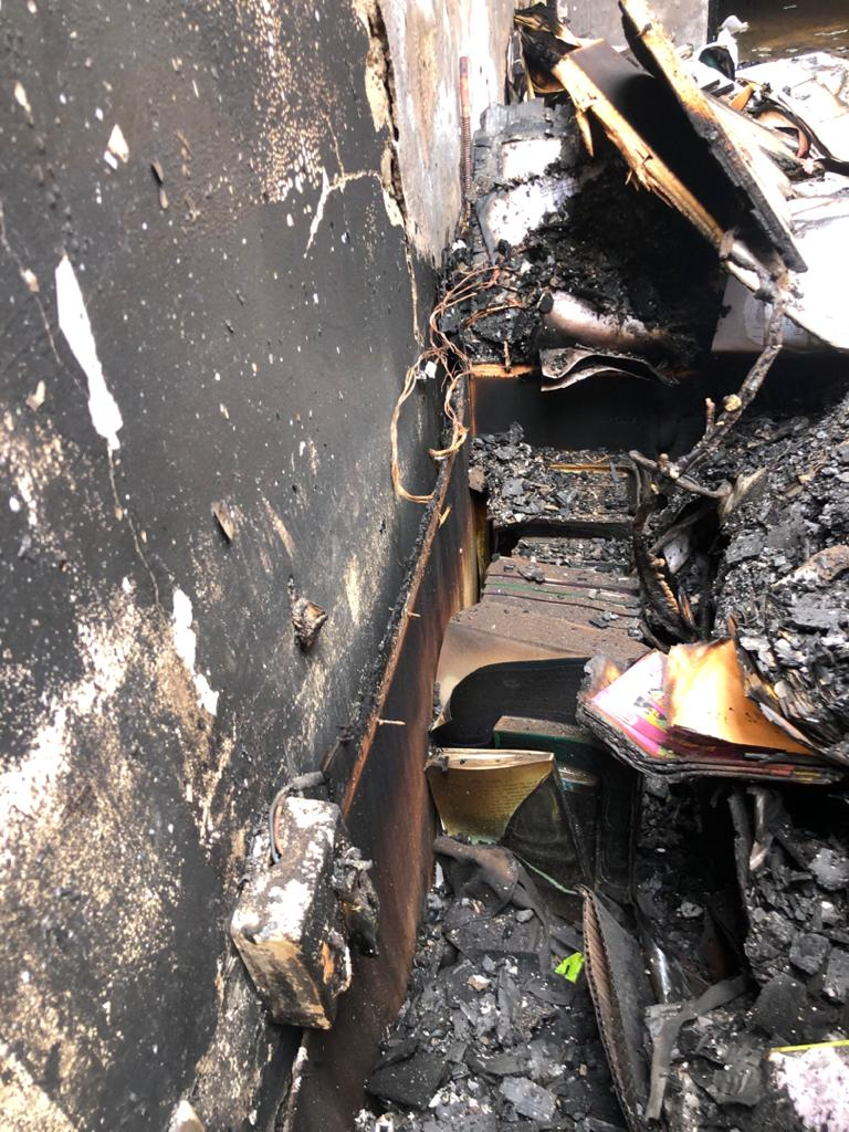 Fire ravages Zenith University - (Photos). 58