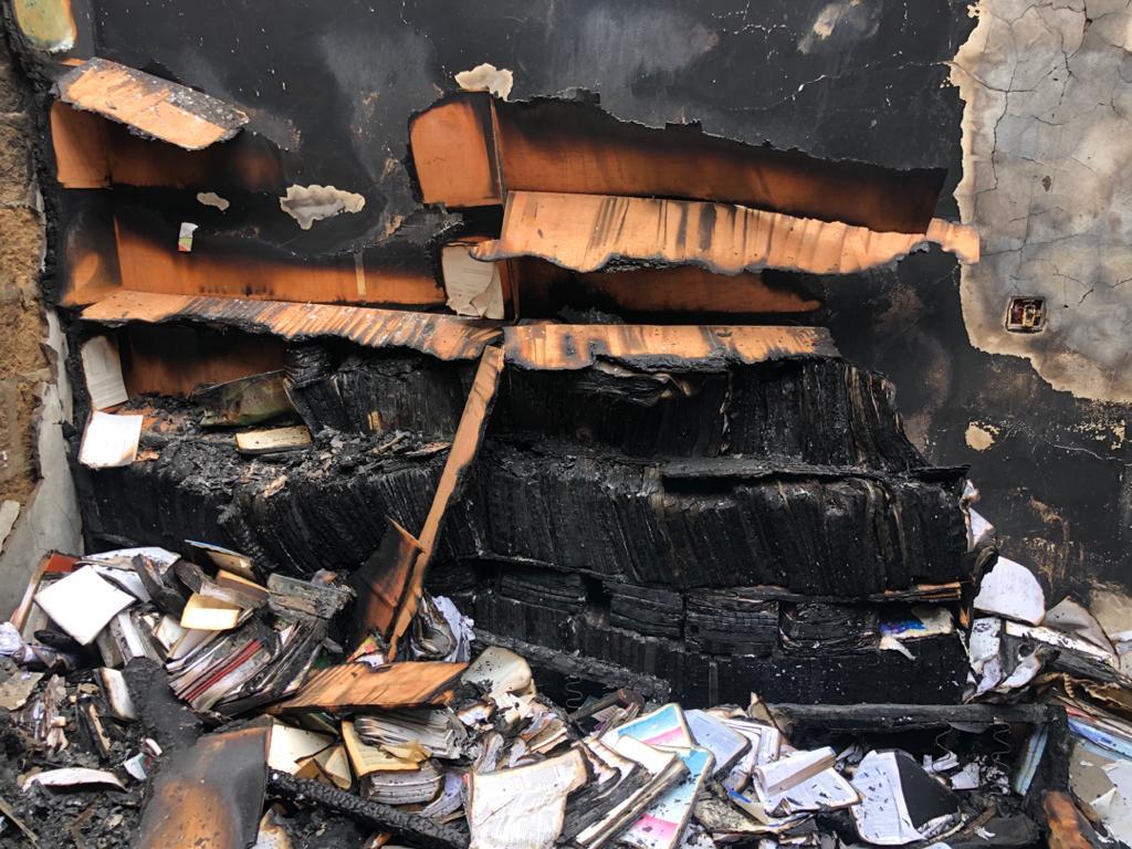 Fire ravages Zenith University - (Photos). 57