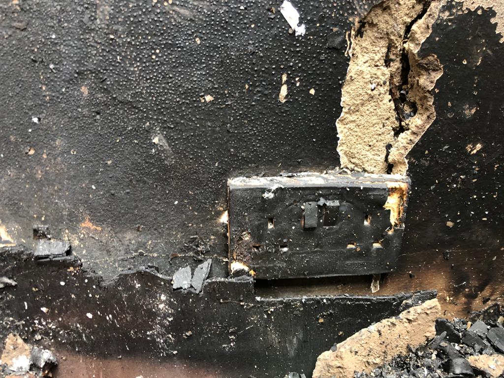 Fire ravages Zenith University - (Photos). 56