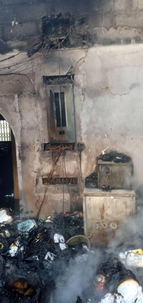 Fire ravages Zenith University - (Photos). 55