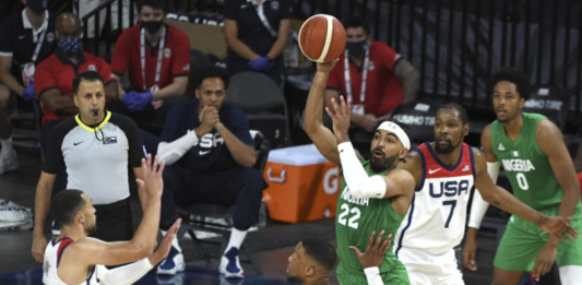 Nigeria have pulled off one of the greatest upsets in international basketball history by stunning the United States in an Olympic exhibition game in Las Vegas, 90-87.