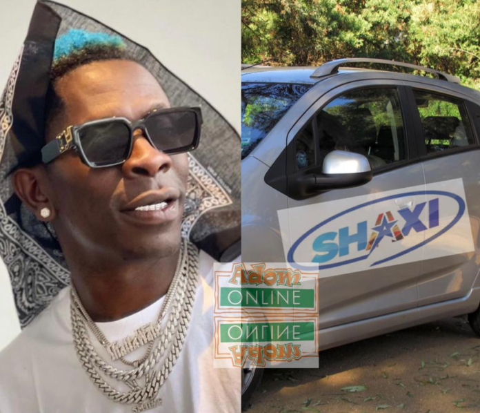 Shatta Wale to launch Shaxi, a ride-hailing service