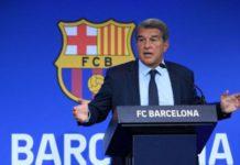 Barcelona president Laporta claims he was lied to by predecessor Josep Maria Bartomeu
