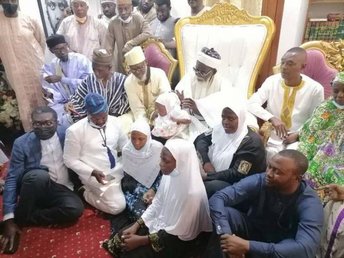 Kaaka's family visit chief imam