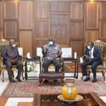 Allotey Jacobs meets Kufuor