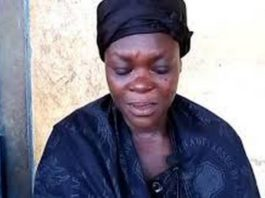 wife of the 62-year-old man murdered at Denkyira Kyekyewere, Ophelia Amoah
