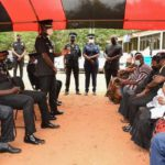 IGP, senior officers console family of late Chief Inspector Kaakyire