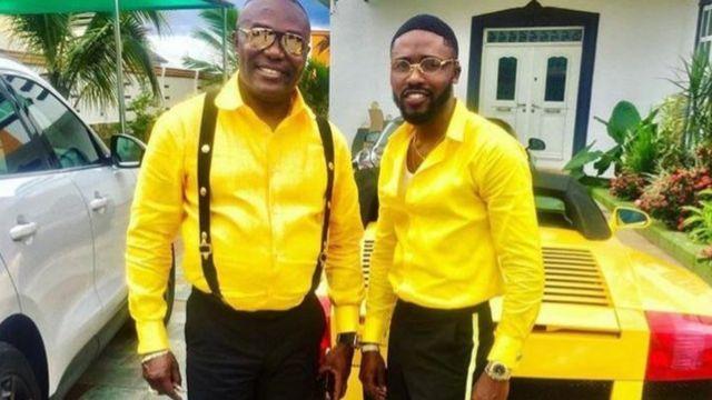 Dr Kweku Frimpong and Emmanuel Frimpong