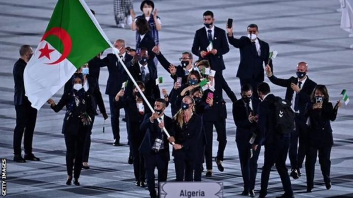 Nourine announced his withdrawal shortly before his team-mates joined the opening ceremony at the Olympics