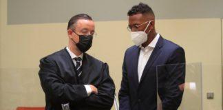 Former Bayern Munich defender Jerome Boateng denied the allegations