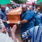 Hajia Mariama Bawumia is laid to rest