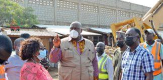 Henry Quartey leads taskforce to destroy illegal structures