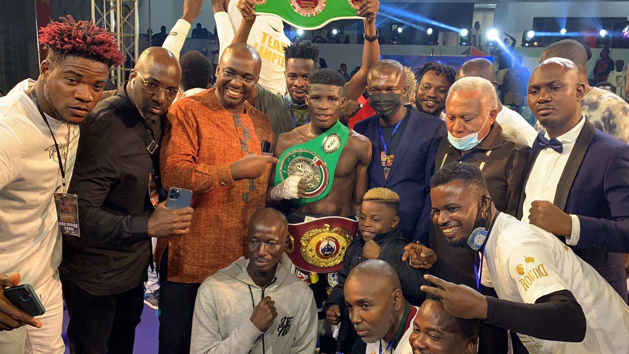 Alfred Lamptey KOs Iddi Kayumba of Tanzania to win WBO/WBC Youth titles |  City Press News