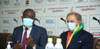 GFA boss with Miovan Rajevac