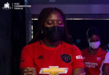 ICGC member who was spotted in Manchester United jersey